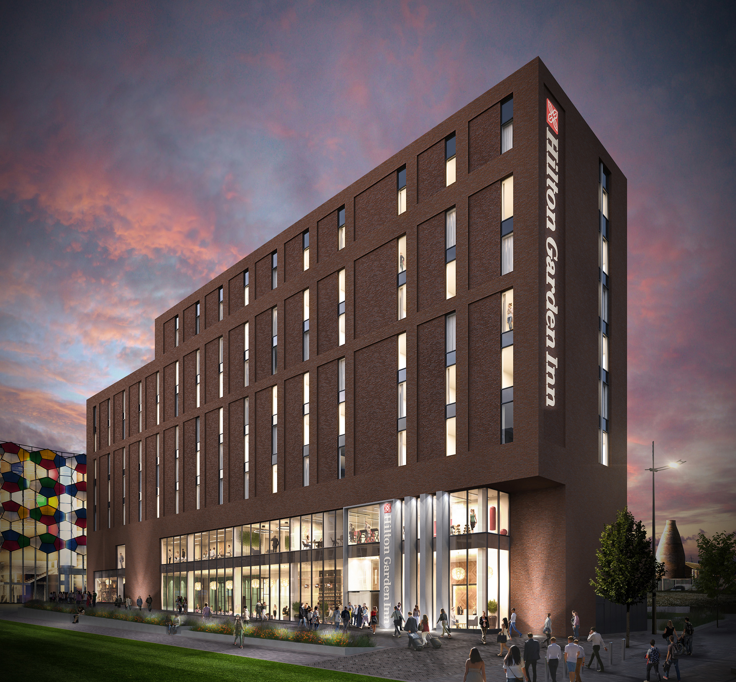 Hilton Hotels Company: Plans Approved For Manchester Based Genr8's Hilton Garden