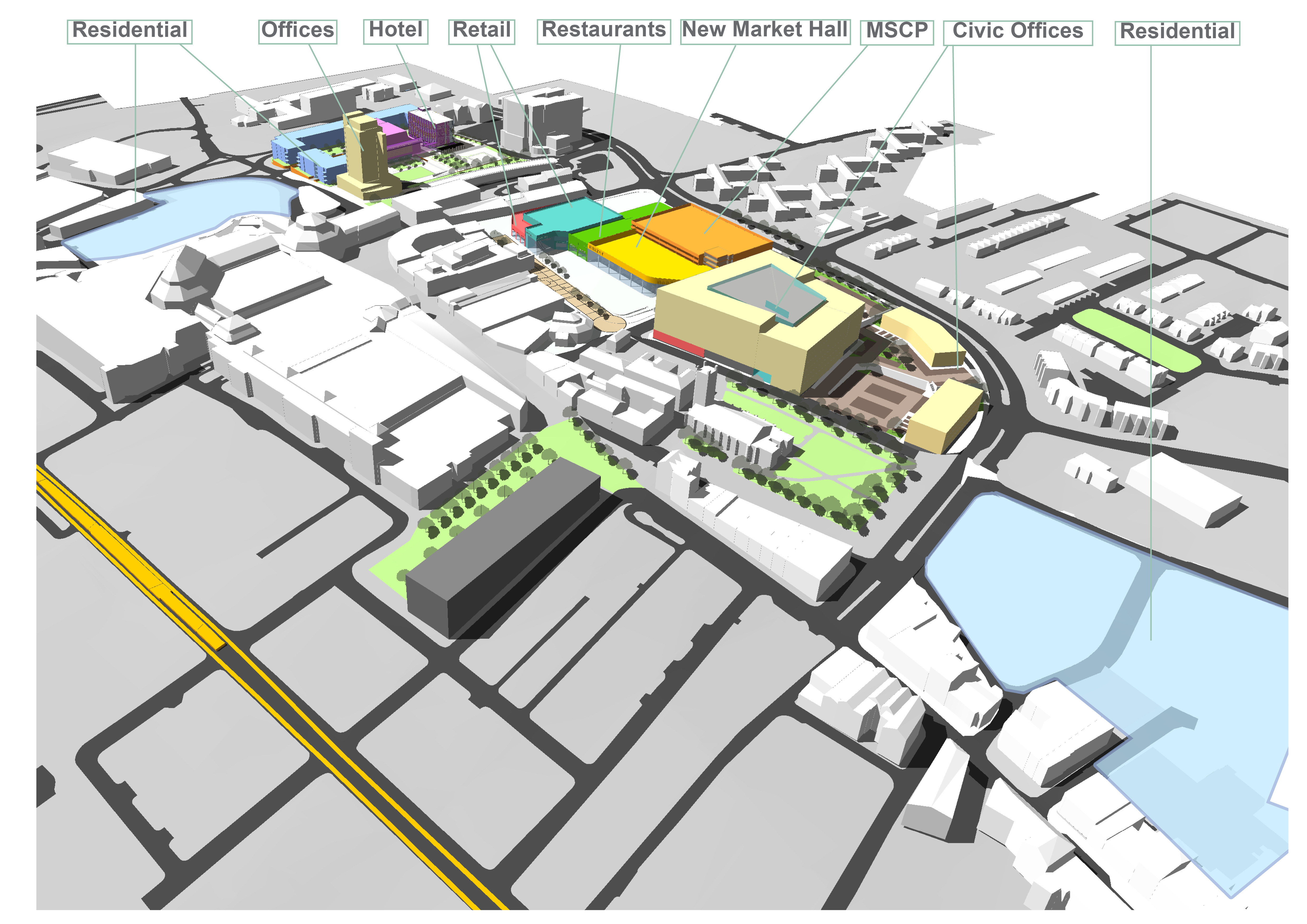Public Consultation for Redevelopment of Oldham Town Centre Approved
