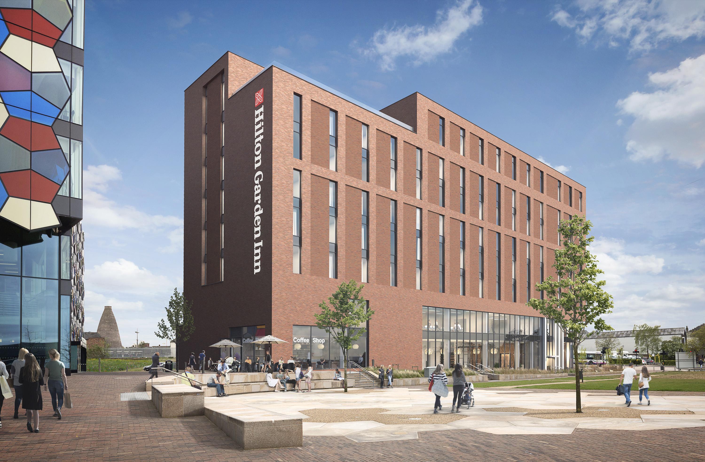 Planning Submitted for Hilton Garden Inn at Genr8's Smithfield, Stoke-on-Trent