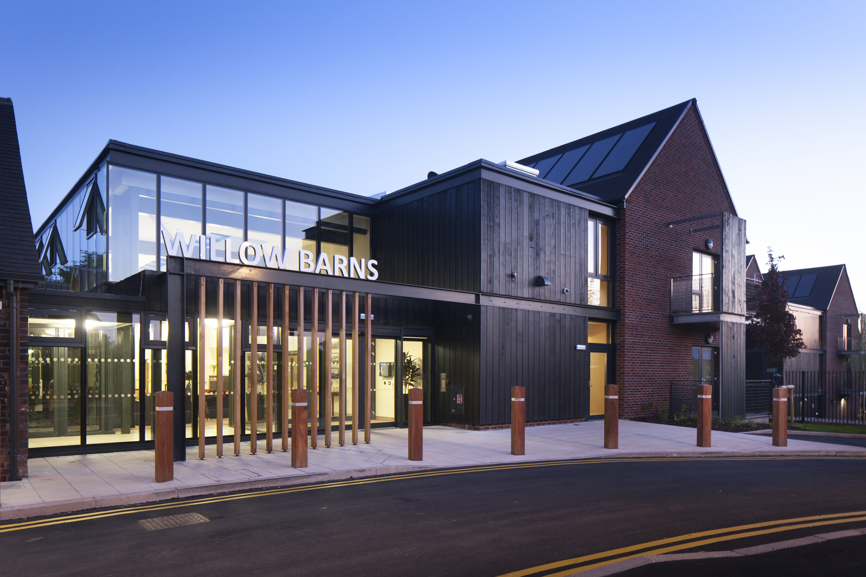 PRP's Willow Barns Retirement Living Project Wins the HAPPI Completed Award at the Housing Design Awards