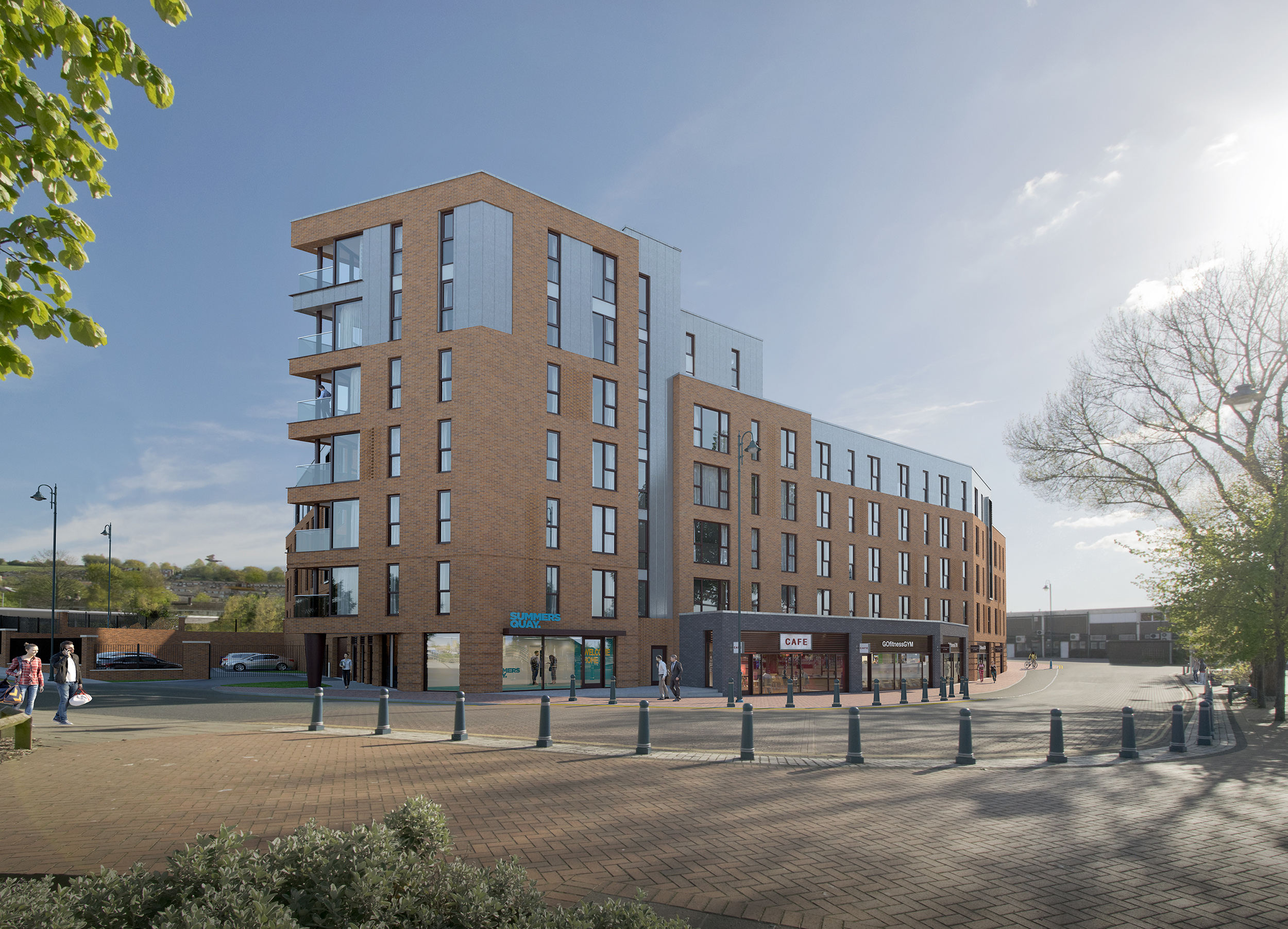 Summers Quay to become the first residential development to connect to Tameside's 'dark fibre' network