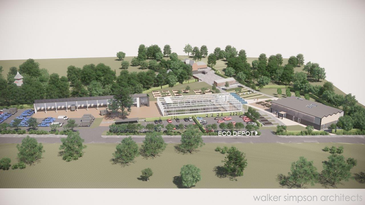 New Alexandria Park Eco Centre Plans Unveiled